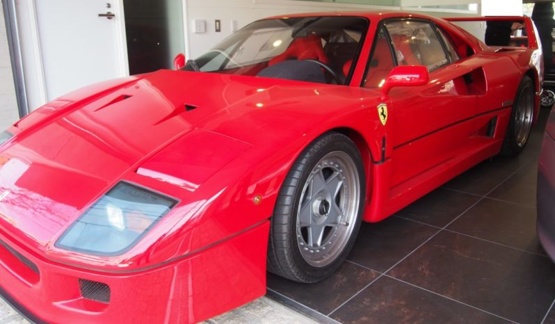 Ferrari F40 Red 1991 full