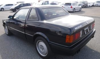 Maserati Karif Dark Blue 1990 full