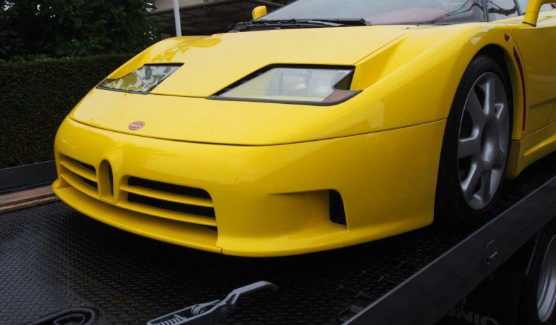 Bugatti EB110 SS Yellow full