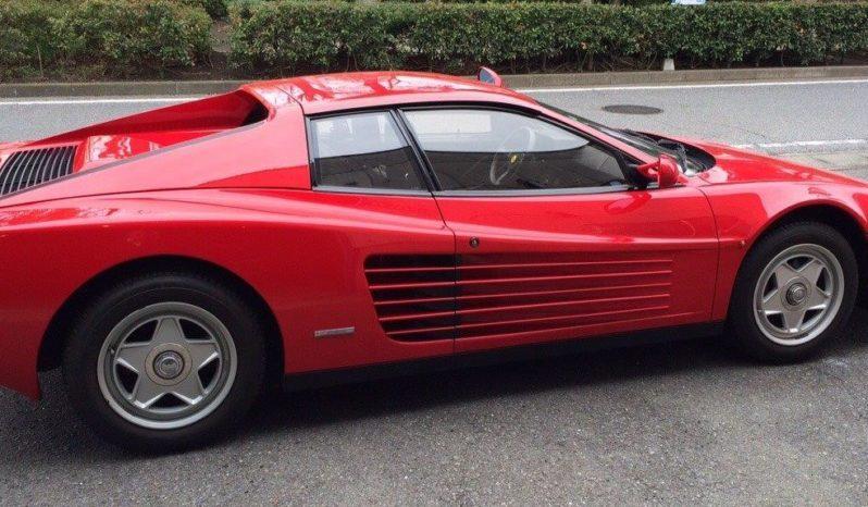 Ferrari Testarossa Red 1986 full