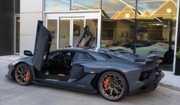 Lamborghini Aventador SVJ full