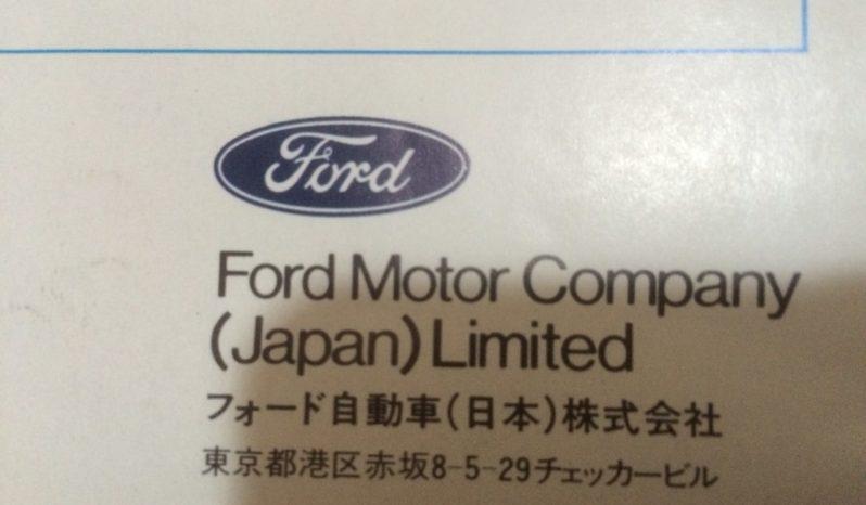 フォード マーキュリー ボブキャット full