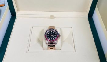 Rolex GMT-Master II – Brand New -Limited edition- full