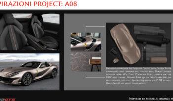 フェラーリ 812 GTS – プロジェクト A08 & A03 – full